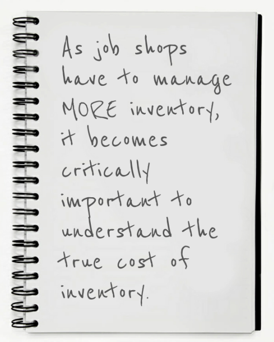 Reduce Inventories—Increase Your Job Shop's Bottom Line by 30% or More