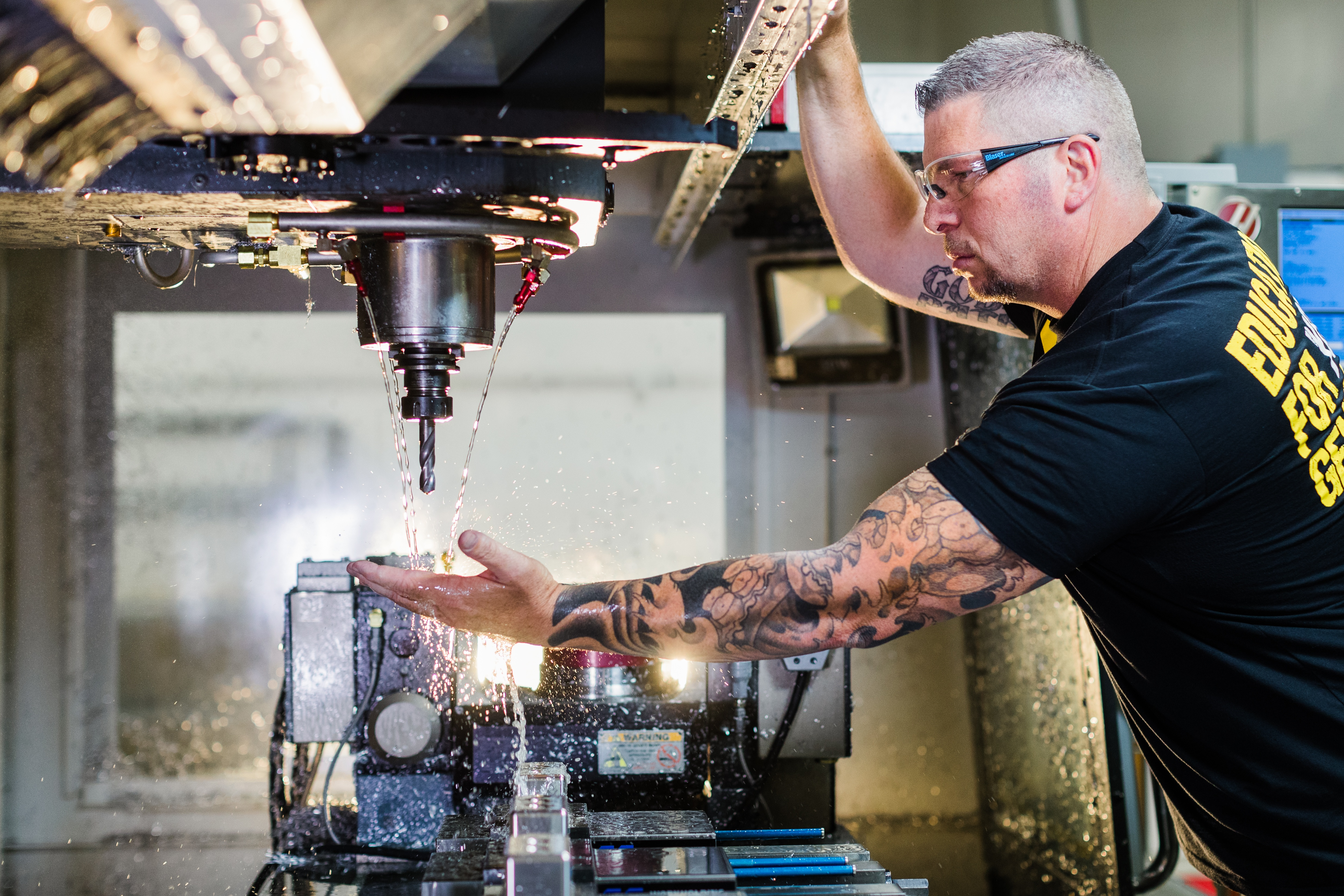 Powering the growth of U.S. manufacturing with TITANS of CNC: Academy. Get ready for your shop to BOOM!